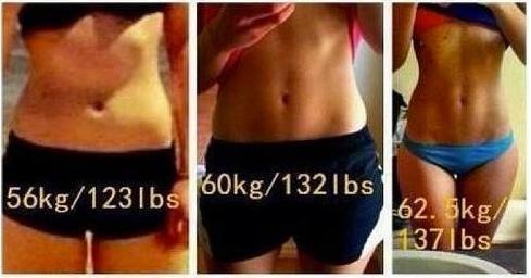 体重は増えているのに引き締まっている女性